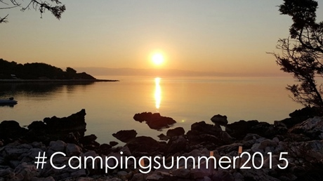 Winner of the photo contest #Campingsummer2015